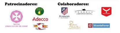 100 x 100 nado solidario La Almudena patrocinadores