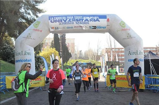 media maraton ciudad universitaria llegada