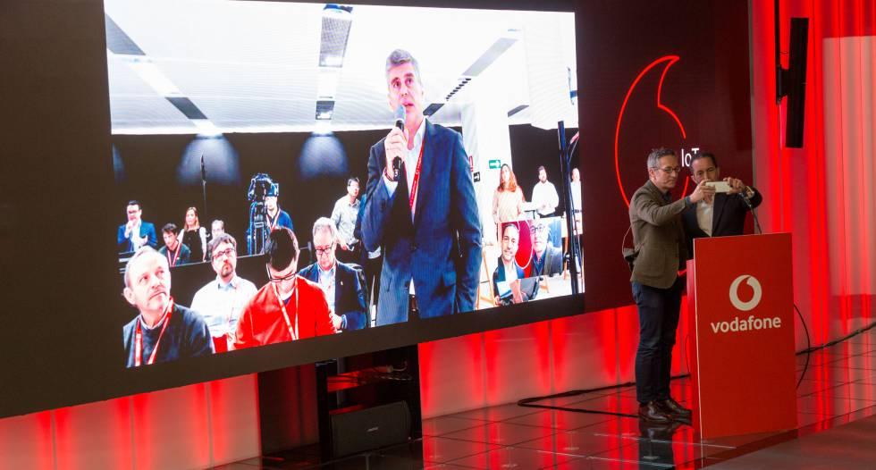 Vodafone y Huawei primera llamada 5G